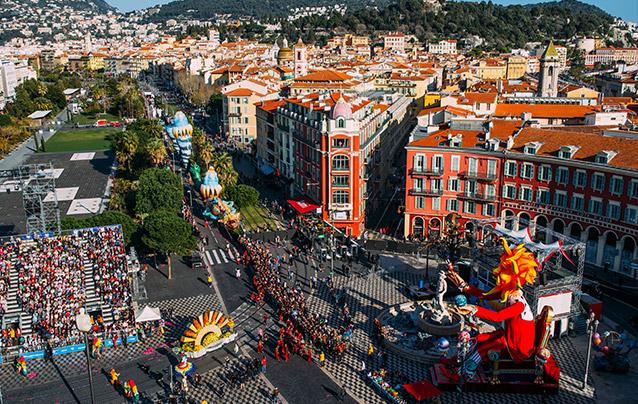 transport vtc carnaval de nice