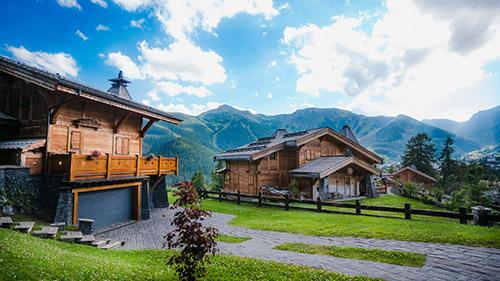 transport station ski auron